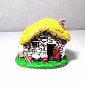 Для дома и интерьера handmade. Livemaster - original item Figure house. Handmade.