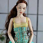 Куклы и игрушки ручной работы. Ярмарка Мастеров - ручная работа Шарнирная фарфоровая кукла EVA. Handmade.
