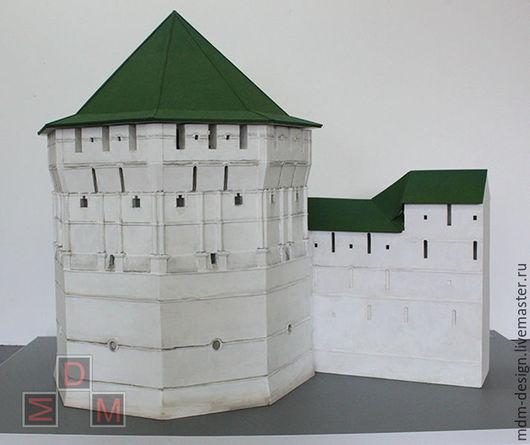 Макет Пятницкой башни Троице-Сергиевой лавры