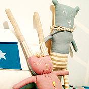 Куклы и игрушки ручной работы. Ярмарка Мастеров - ручная работа Льняные игрушки ручной работы.. Handmade.