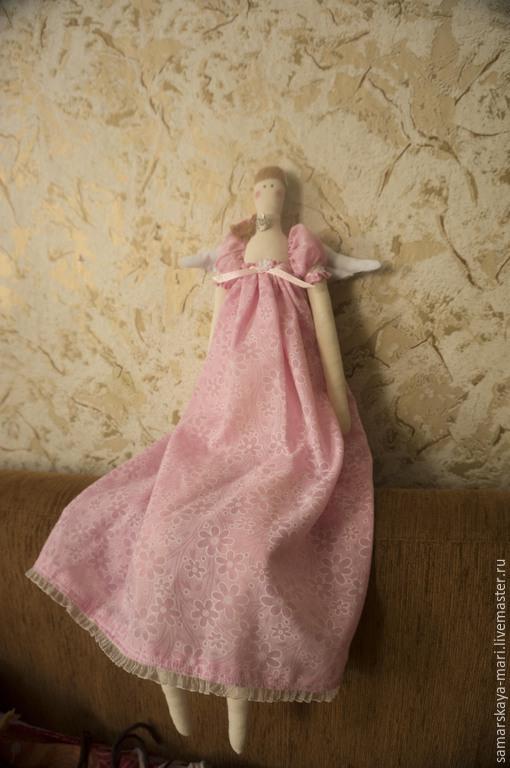 Куклы Тильды ручной работы. Ярмарка Мастеров - ручная работа. Купить Ангел. Handmade. Тильда, ангел, разноцветный, хлопок