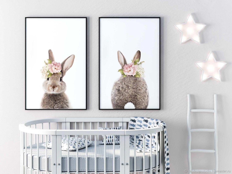 Набор постеров для детской комнаты - Пасхальный Зайчик, Картины, Челябинск, Фото №1