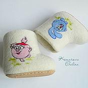 """Обувь ручной работы. Ярмарка Мастеров - ручная работа Детские валенки """"Для самых маленьких 2"""". Handmade."""