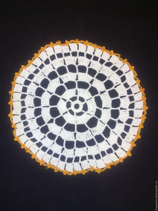 """Текстиль, ковры ручной работы. Ярмарка Мастеров - ручная работа. Купить Салфетка """"Мини"""". Handmade. Белый, подарок"""