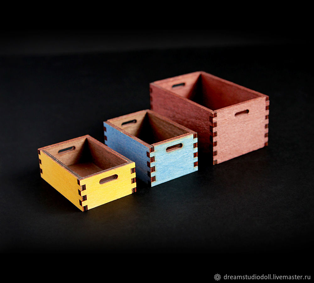 3 drawer sizes available: small, medium and large.