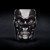 Посуда handmade. Livemaster - original item Terminator T-800 Mug. Ceramic, for tea and coffee Terminator T-800. Handmade.