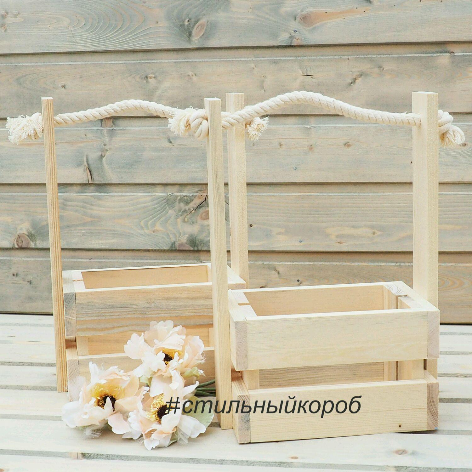 Как сделать ящик для цветов своими руками из дерева с ручкой 70