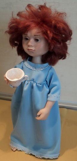 """Коллекционные куклы ручной работы. Ярмарка Мастеров - ручная работа. Купить Кукла авторская """" Утреннее молоко"""". Handmade."""