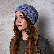 Аксессуары handmade. Livemaster - original item Women`s cotton hat Valerie. Handmade.