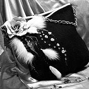 Сумки и аксессуары ручной работы. Ярмарка Мастеров - ручная работа Черно-белое кино. Handmade.