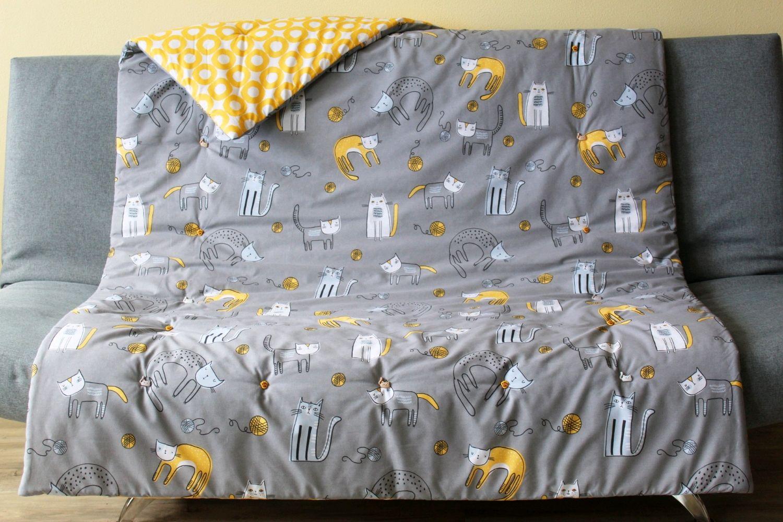 """Детское одеяло """"Цап-царап"""" ручной работы с декор. пуговицами, Одеяла, Владивосток,  Фото №1"""