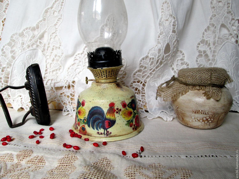 Kerosene lamp and napkin holder in gift Folk motifs, Souvenirs3, Voronezh,  Фото №1