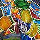 Order Batik, silk handkerchief ' Full bowl». Rudnitskaya Irina. Livemaster. . Shawls1 Фото №3