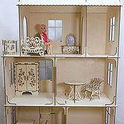 Кукольный дом деревянный 125 см