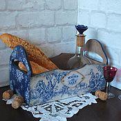 """Для дома и интерьера ручной работы. Ярмарка Мастеров - ручная работа РЕЗЕРВ.  """"Maison de luxe"""" короб подставка. Handmade."""
