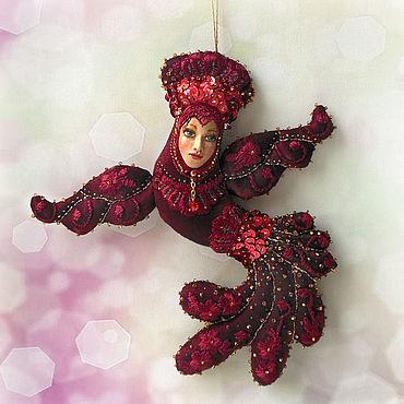 Dolls & toys handmade. Livemaster - original item Doll: Firebird. Handmade.