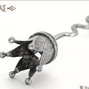 """Украшения ручной работы. Ярмарка Мастеров - ручная работа """"Старая Корона 6 лучей """" Заколка для волос (шпилька). Handmade."""