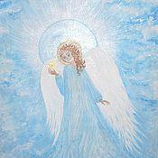 Картины и панно ручной работы. Ярмарка Мастеров - ручная работа Ангел для ОЛЬГИ. Handmade.