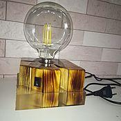 Настольные лампы ручной работы. Ярмарка Мастеров - ручная работа Настольные лампы: из эпоксидной смолы. Handmade.