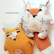 Куклы и игрушки handmade. Livemaster - original item Fox Bonnie and Tom. Handmade.