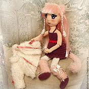 Куклы и игрушки ручной работы. Ярмарка Мастеров - ручная работа Девушка - кошка Кико. Handmade.