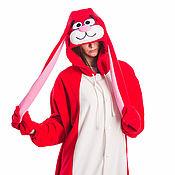 Субкультуры handmade. Livemaster - original item Costume kigurumi Rabbit Fire FUNKY FIRE BUNNY KIGU. Handmade.
