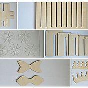 Материалы для творчества ручной работы. Ярмарка Мастеров - ручная работа Большой набор шаблонов для бантиков. Handmade.