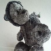 Куклы и игрушки ручной работы. Ярмарка Мастеров - ручная работа Винтажно-фантазийный Ежик - Лесовичек. Handmade.