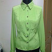 Одежда ручной работы. Ярмарка Мастеров - ручная работа Блузка 100% шелк. Handmade.