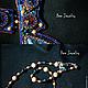 Колье, бусы ручной работы. колье Дикая Охота. Ярина Яриловец (dee-jewelry). Ярмарка Мастеров. Колье из бисера, родусит