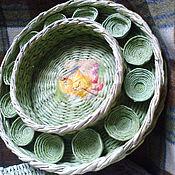 Для дома и интерьера handmade. Livemaster - original item Easter tray of chicken. Handmade.