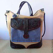 Сумки и аксессуары handmade. Livemaster - original item leather bag engraved with flying butterfly. Handmade.