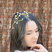 Свадебный салон ручной работы. Ярмарка Мастеров - ручная работа Свадебное украшение для волос, украшение для прически. Handmade.