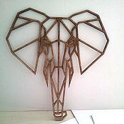 """Для дома и интерьера ручной работы. Ярмарка Мастеров - ручная работа Слон """"Оригами"""". Handmade."""