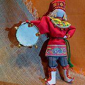 Куклы и игрушки ручной работы. Ярмарка Мастеров - ручная работа Скоморох авторская кукла. Handmade.
