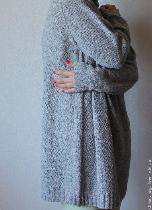 """Кофты и свитера ручной работы. Ярмарка Мастеров - ручная работа. Купить Свитер """" Gray Cozy Day """". Handmade."""