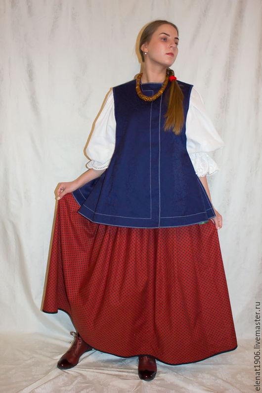 Одежда ручной работы. Ярмарка Мастеров - ручная работа. Купить Обжим или обжимка.. Handmade. Тёмно-синий, обжимка