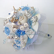 Свадебный салон ручной работы. Ярмарка Мастеров - ручная работа Букет из ракушек Морская свадьба. Handmade.