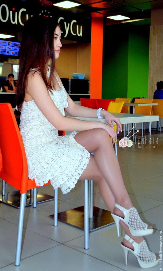 Платья ручной работы. Ярмарка Мастеров - ручная работа. Купить Платье Чудо. Handmade. Вязаное платье, Платье нарядное