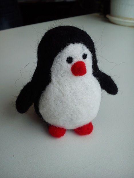 Игрушки животные, ручной работы. Ярмарка Мастеров - ручная работа. Купить Пингвиненок. Handmade. Чёрно-белый, игрушка в подарок