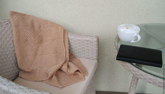 Текстиль, ковры ручной работы. Ярмарка Мастеров - ручная работа. Купить Ириска-карамелька. Handmade. Бежевый, плед в кроватку