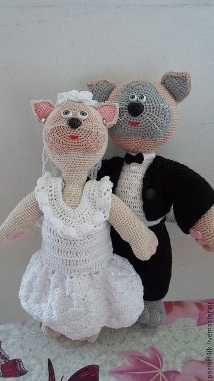 Подарки на свадьбу ручной работы Игрушки ручной работы