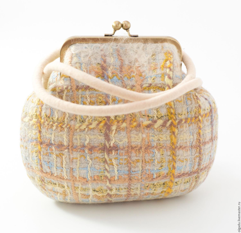 Женские сумки ручной работы. Ярмарка Мастеров - ручная работа. Купить Сумка  валяная