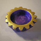Для дома и интерьера ручной работы. Ярмарка Мастеров - ручная работа Подсвечник для маленькой свечки. Handmade.