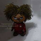 Куклы и игрушки ручной работы. Ярмарка Мастеров - ручная работа Кукла Домовенок Кузя Чумазый. Handmade.
