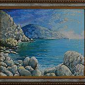 """Картины и панно ручной работы. Ярмарка Мастеров - ручная работа Картина """"Перед грозой"""". Handmade."""