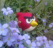 Куклы и игрушки ручной работы. Ярмарка Мастеров - ручная работа Рэд (Angry Birds). Handmade.
