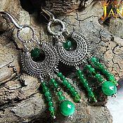Украшения handmade. Livemaster - original item emerald.