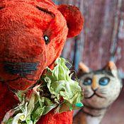 """Куклы и игрушки ручной работы. Ярмарка Мастеров - ручная работа Тедди мишка """"С"""". Handmade."""