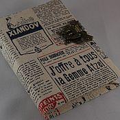 """Канцелярские товары ручной работы. Ярмарка Мастеров - ручная работа Блокнот """"Верь в себя"""". Handmade."""